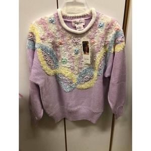 Vintage NWT Jaclyn Smith Pullover Sweater Medium